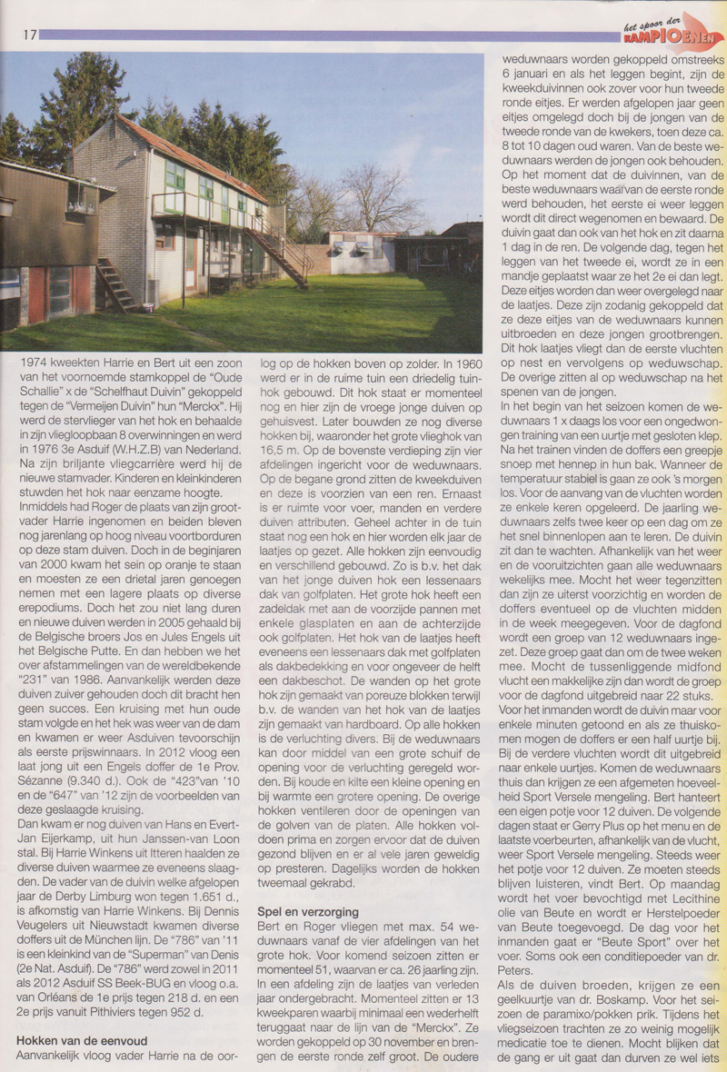 Reportage 2014 Martens en Zn in Spoor der Kampioenen_2